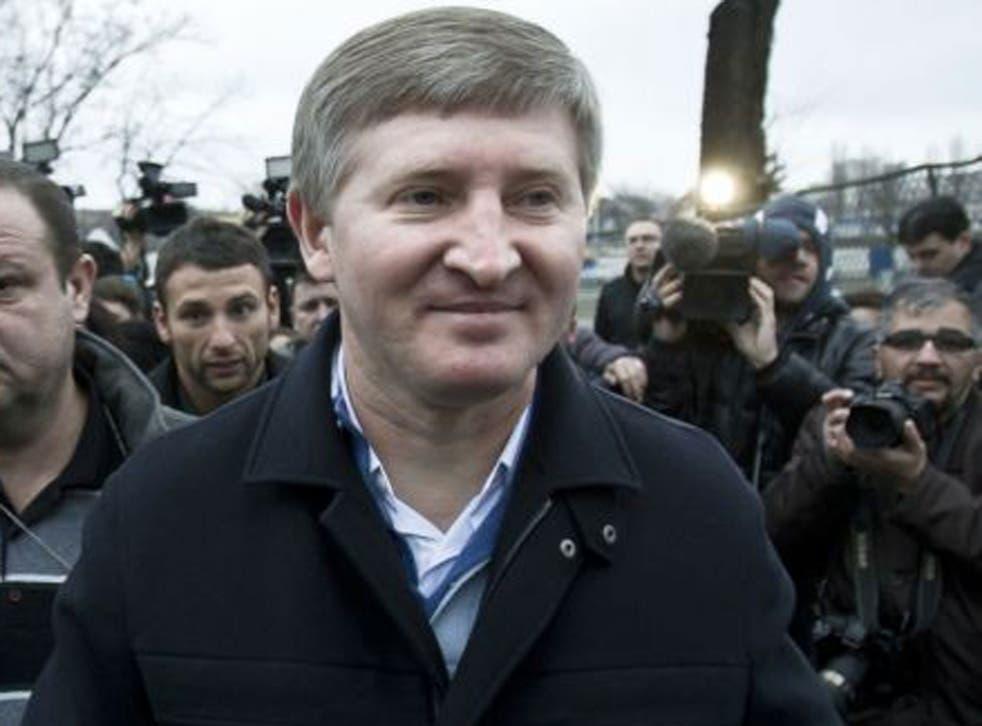 Rinat Akhmetov said fighting has devastated Ukraine's eastern regions